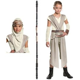 Star-Wars-Rey-Costume-Bundle-Set-Classic-Child-Large-Costume-Mask-and-Staff-0