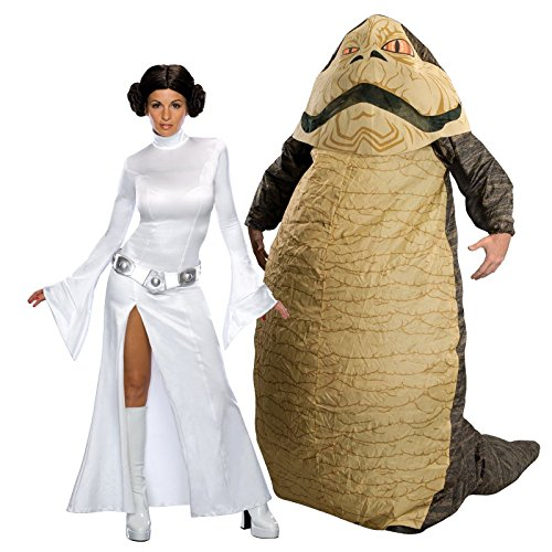 Star Wars – Secret Wishes Leia Slavegirl Adult – S Bundle Set