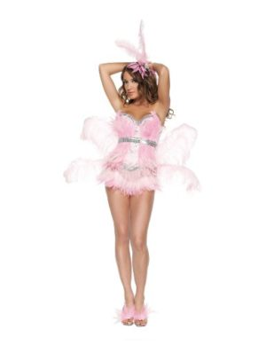 Starline-Sexy-Flamingo-Costume-Womens-4-Piece-Costume-Set-0