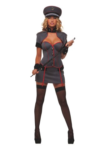 Starline Sexy Naughty General Women's 4 Piece Costume Set