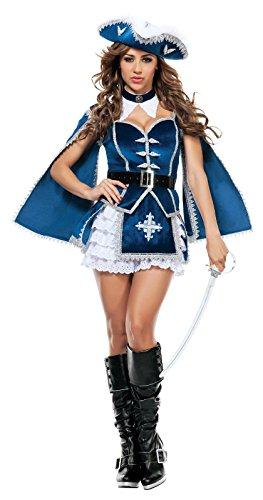 Starline-Womens-All-For-You-Musketeer-Sexy-Costume-Set-0