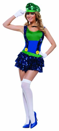 Starline Women's Block Bustin Looisa 5 Piece Costume Set