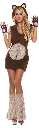 Starline Women's Cuddle Me Bear Costume Set