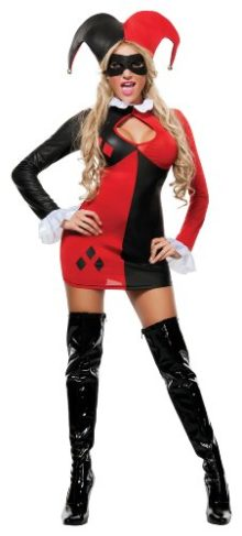 Starline-Womens-Harley-Quinn-Sexy-3-Piece-Cosplay-Costume-0
