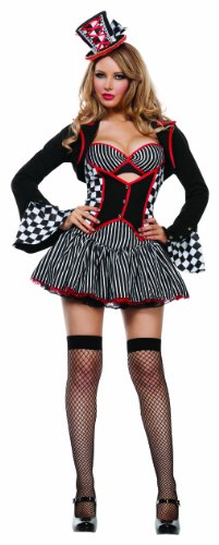 Starline-Womens-Mayhem-Hatter-Sexy-5-Piece-Cosplay-Costume-Set-0