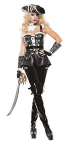 Starline-Womens-Noir-Pirate-Sexy-4-Piece-Corset-Costume-Set-0