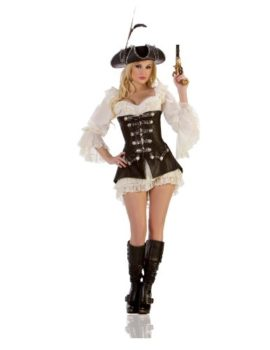 Starline-Womens-Rouge-Pirate-Sexy-Costume-Dress-Set-0