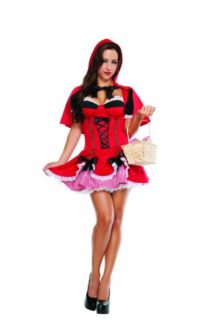 Starline-Womens-Sexy-Little-Red-Costume-Dress-Set-0