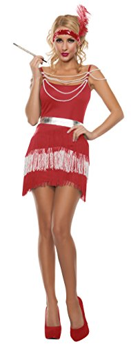 Starline Women's Sexy Party Flapper Roaring 20s Costume Set