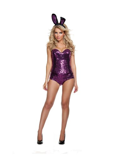 Starline Women's Sexy Signature Sequin Bunny Costume