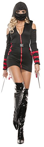 Starline Women's Sexy Strapped Up Ninja Costume Set