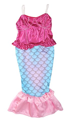 StylesILove-Kids-Girls-Princess-Mermaid-Dress-Halloween-Party-Costume-0