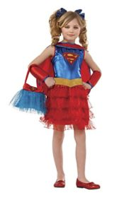Supergirl-Tutu-Dress-Costume-with-Purse-0