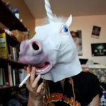 Supmaker-Deluxe-Novelty-Halloween-Costume-Party-Latex-Animal-Head-Mask-Unicorn-head-0-2