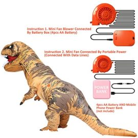 T-Rex-Inflatable-Costume-Dinosaur-Fancy-Dress-Fool-Pets-Costume-for-ADULT-Party-0-0