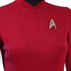 TISEA-Female-Captain-Officer-Duty-Dress-Cosplay-Costume-Red-Uniform-0-4