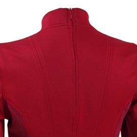 TISEA-Female-Captain-Officer-Duty-Dress-Cosplay-Costume-Red-Uniform-0-7