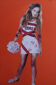 Teen-Girls-Zombie-Cheerleader-Costume-Dress-Size-11-13-XL-0