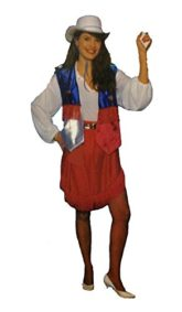 Texas-Cowgirl-Vest-and-Skirt-in-Patriotic-Colors-0