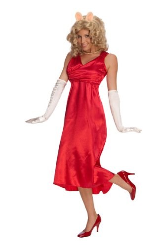 The Muppets Deluxe Miss Piggy Dress Costume