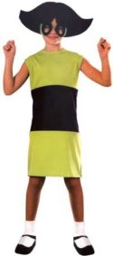 The-Powerpuff-Girls-Buttercup-Power-Puff-Deluxe-Costume-Child-Size-T-Toddler-2T-4T-0