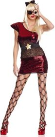 ToBeInStyle-Womens-4-Pc-Asymmetrical-Metallic-Lady-Pop-Star-Dress-Includes-Xs-0