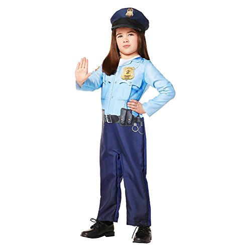 Toddler's Police Officer Jumpsuit Costume
