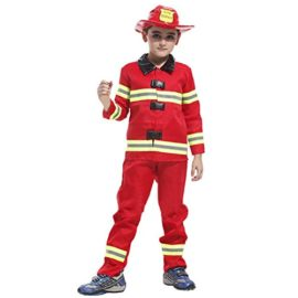TopTie-Firefighter-Halloween-Costume-Fireman-Role-Play-Costume-Child-0-2