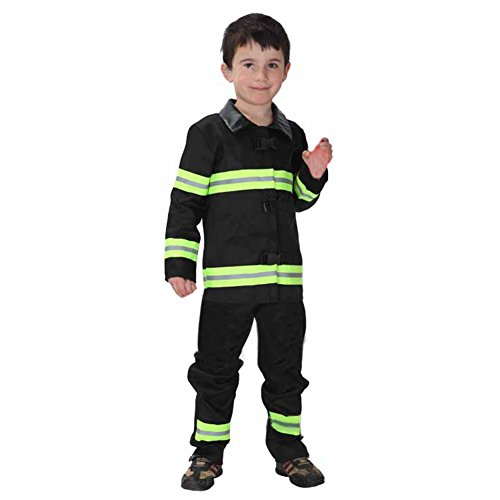 TopTie Firefighter Halloween Costume / Fireman Role Play Costume, Child