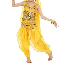 TopTie-Kids-Belly-Dance-Costume-Set-Halter-Top-Harem-Pants-Hip-Scarf-0-0