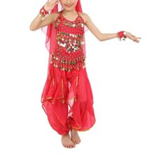 TopTie-Kids-Belly-Dance-Costume-Set-Halter-Top-Harem-Pants-Hip-Scarf-0