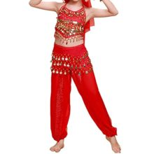 TopTie-Kids-Belly-Dance-Girl-Halter-Top-Harem-Pants-Halloween-Costume-Set-0