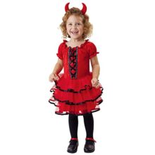 Totally-Ghoul-Frilly-Lil-Devil-Costume-Size-Child-4-6-Years-0