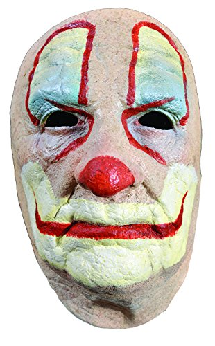 Trick or Treat Studios Men's Old Clown Face Mask
