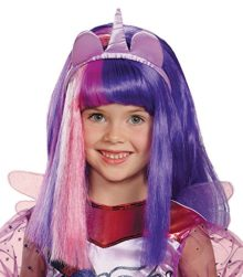 UHC-Girls-My-Little-Pony-Twilight-Sparkle-Wig-Child-Halloween-Accessory-0