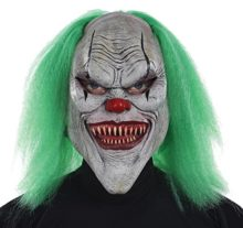 UHC-Mens-Horror-Carnival-Evil-Clown-Latex-Mask-Halloween-Costume-Accessory-0