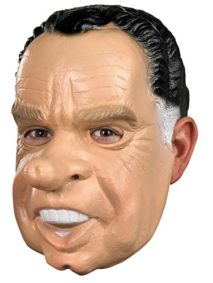 UHC-Mens-Richard-Nixon-Political-Funny-Party-Vinyl-Halloween-Costume-Mask-0