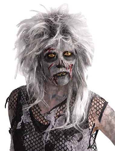 UHC Wild Zombie Monster Adult Scary Horror Halloween Costume Party Wig Accessory