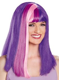UHC-Womens-Twilight-Sparkle-My-Little-Pony-Wig-Halloween-Costume-Accessory-0
