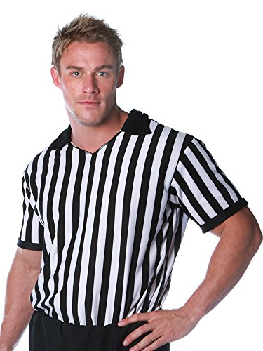 Underwraps Costumes Men's Referee Costume – Shirt