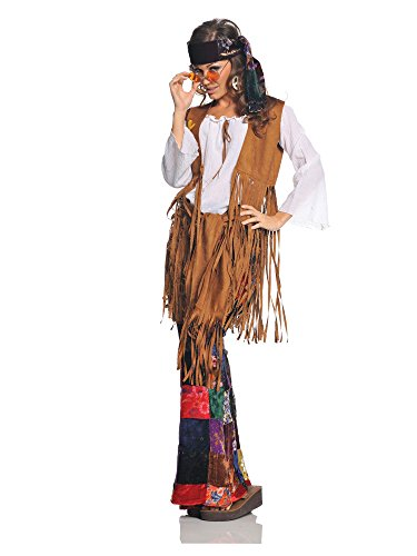 Underwraps Costumes  Women's Retro Hippie Costume – Peace Out
