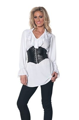 Underwraps-Womens-Pirate-Ruffled-Blouse-0