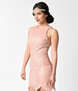 Vintage-Style-Blush-Pink-Embroidered-Mesh-Sleeveless-Flapper-Dress-0-3