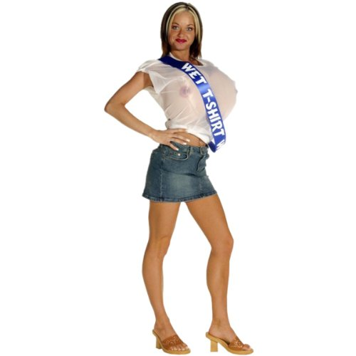 Wet T-Shirt Winner Adult Costume (Size 6-12)