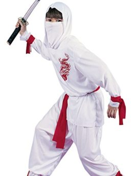 White-Ninja-Kids-Costume-0-0