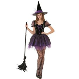 Wicked-Witch-Womens-Halloween-Costume-Sexy-Spellcaster-Classic-Fairytale-Dress-0