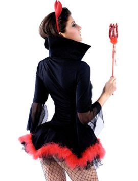 Wincolor-Halloween-Cosplay-Sexy-Devil-Lady-She-Devil-Costume-Mini-Dress-0-0