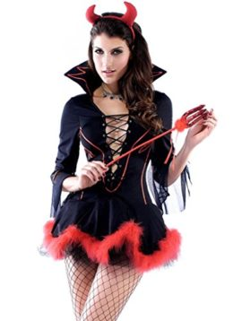 Wincolor-Halloween-Cosplay-Sexy-Devil-Lady-She-Devil-Costume-Mini-Dress-0-1