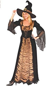 Witch-Costume-Nuoqi-Womens-Black-Long-Cosplay-Costume-0