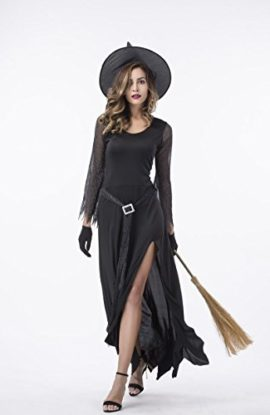 Witch-Halloween-Costumes-for-Women-Adult-Sexy-Black-Wicked-Witch-Costume-0-2